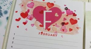 February Birthday Calendar